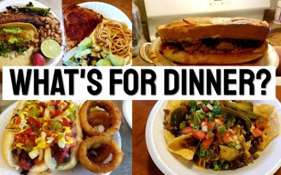 WHAT'S FOR DINNER?   MEXICAN FOOD   EASY & BUDGET FRIENDLY MEAL IDEAS   COLLAB   Crystal Evans